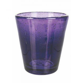 12 Pieces Colored Blown Glass Water Glasses Service - Yucatan
