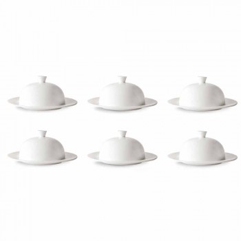 Cloche Service for Flat or Deep Plates 12 Pieces Luxury Design - Samantha