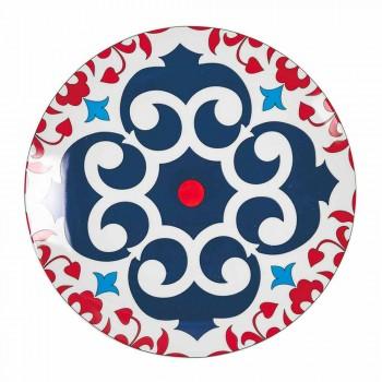 Complete Table Service Porcelain and Stoneware Plates 18 Pieces - Suarez