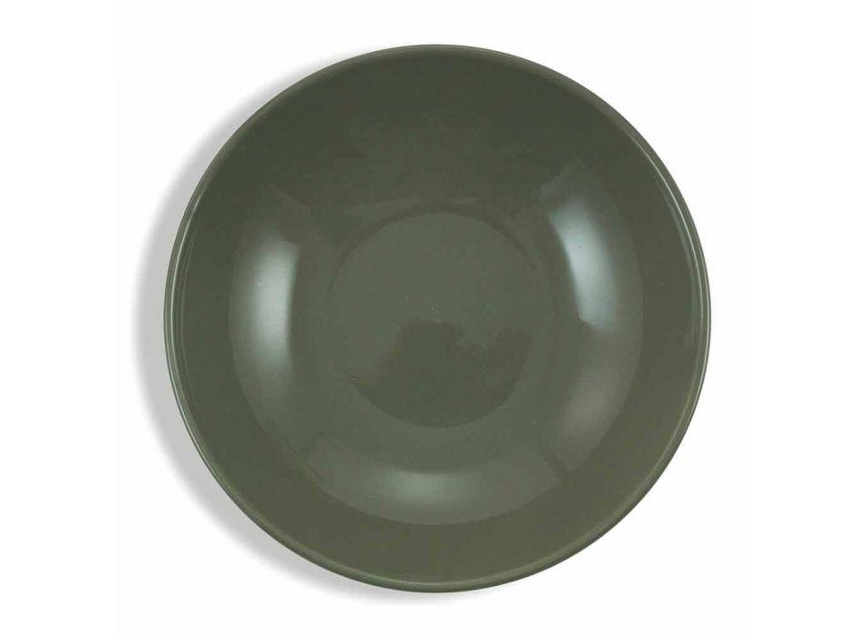 Blue Colored Porcelain Tableware Set 18 Pieces - Eivissa