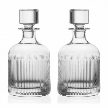 6-Piece Luxury Design Ecological Crystal Whiskey Set - Tactile