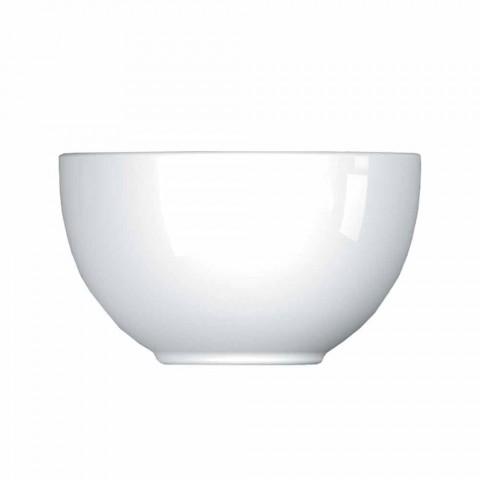 Cup Service Modern Design Porcelain Bowls 8 Pieces - Telescope