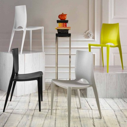 Set of 4 dining/kitchen chairs Felicia, modern design