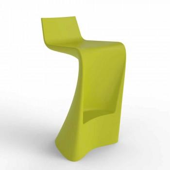 Wing Vondom modern design bar stool in polyethylene