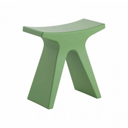 Low Design Outdoor Stool in Polypropylene Made in Italy - Prue