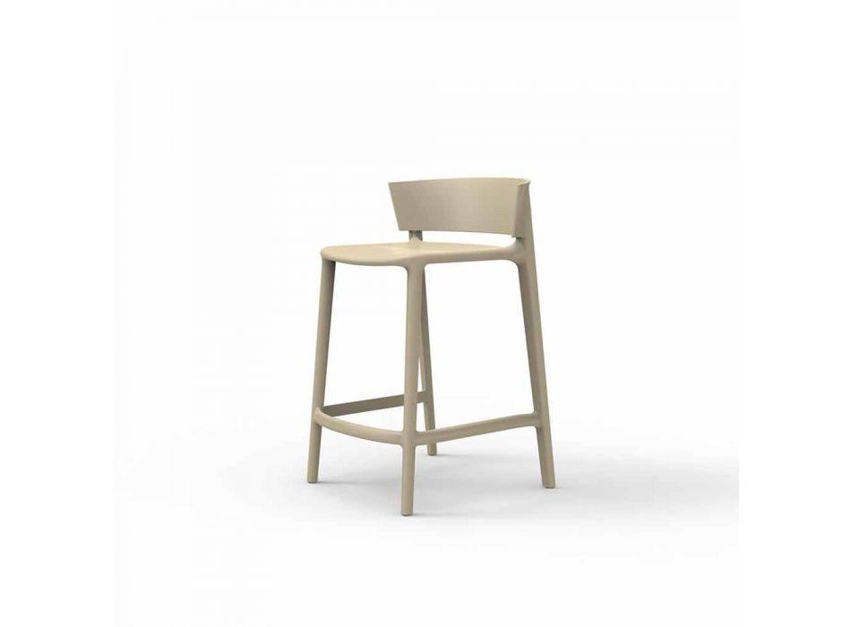 Africa Vondom garden stool in polypropylene H 85 cm, design