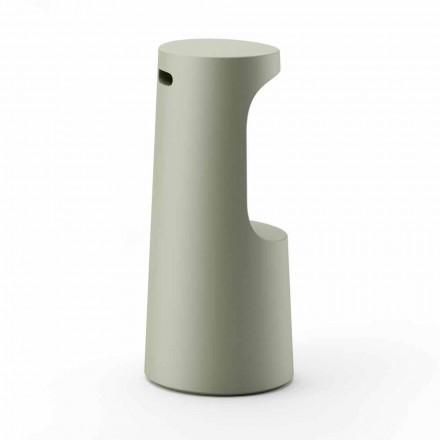 High Design Stool in Matt Polyethylene for Outdoor Made in Italy - Forlina