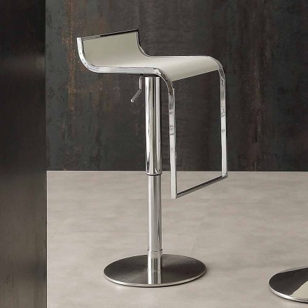 Modern Design Stool, Covered in Eco-leather - Arbore