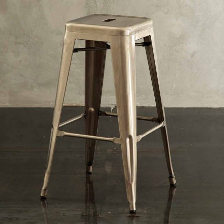 Modern metal stool Roxanne