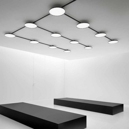 Customizable Suspension and Ceiling Lamp System - Mymoons Aldo Bernardi