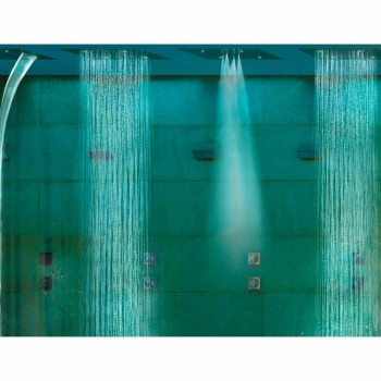 Shower head with chromotherapy two modern design Dream jets
