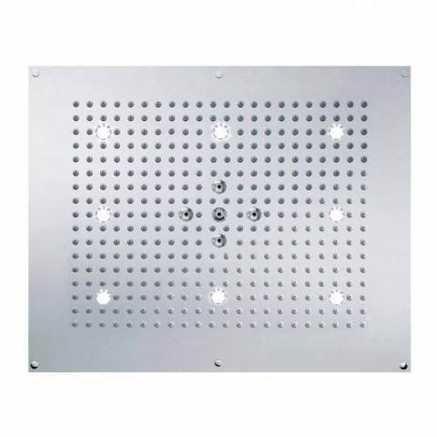 Ceiling shower head with LED two jets Bossini Dream Neb