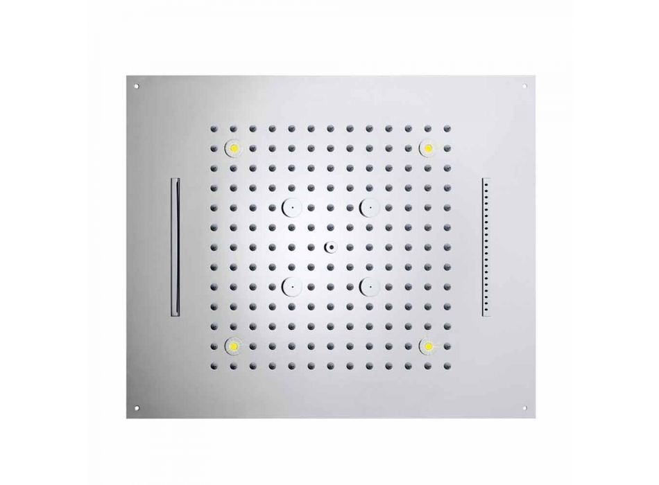 Modern four-function showerhead shower and chromotherapy Dream