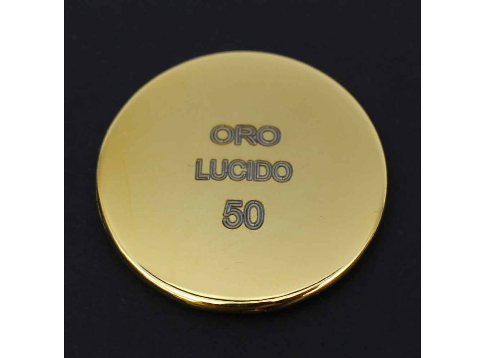 Brass Single Jet Shower Head Classic Design Made in Italy - Tenco