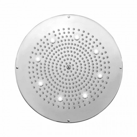 Bossini Round shower head Dream by   with LED lights, modern design