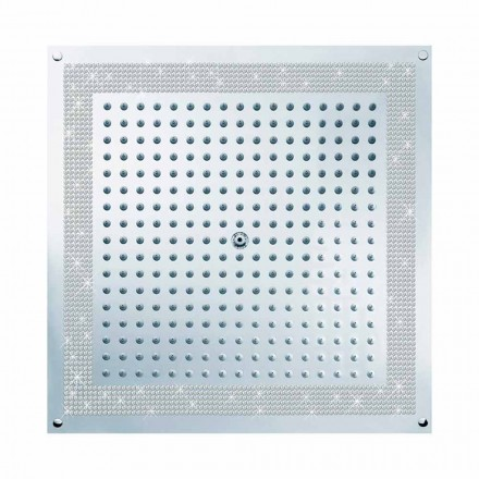 Bossini Shower head Cube by  , with Swarovski decorations