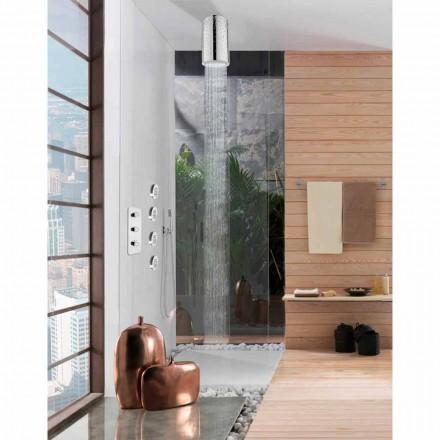 Bossini Shower head  Dinamic-Inox by  , with Swarovski decorations