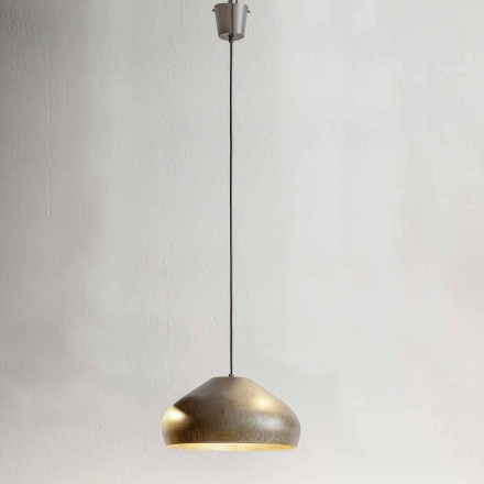Antique Steel Design Suspension Diameter 450 mm - Materia Aldo Bernardi