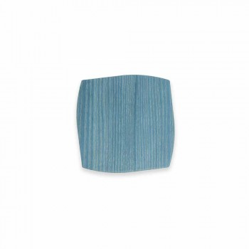 Modern Square Wooden Coaster Made in Italy - Abraham