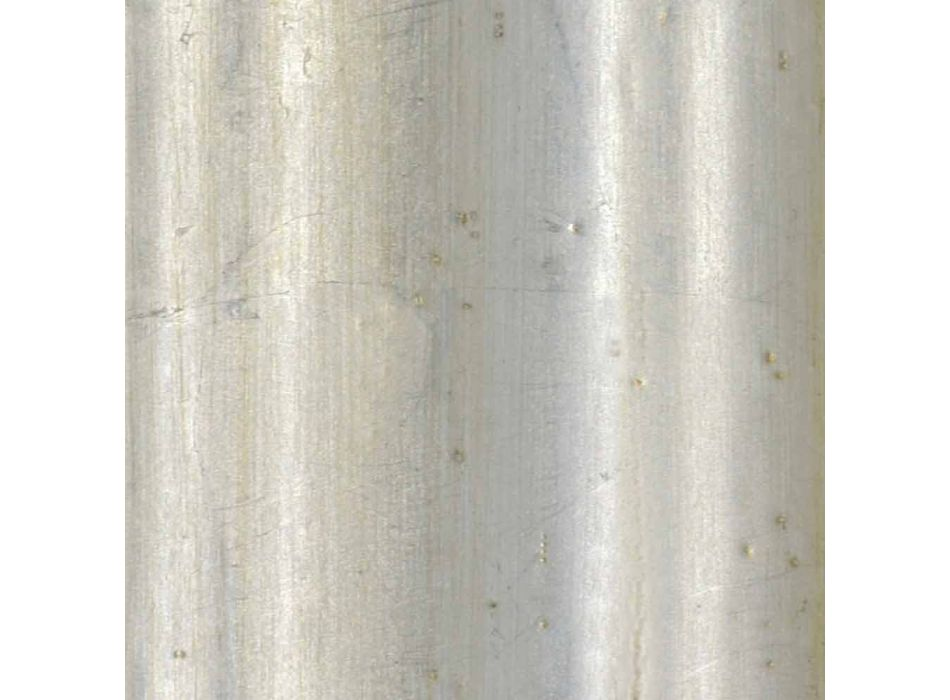Spruce wood wall mirror, Italian made frieze by Elia