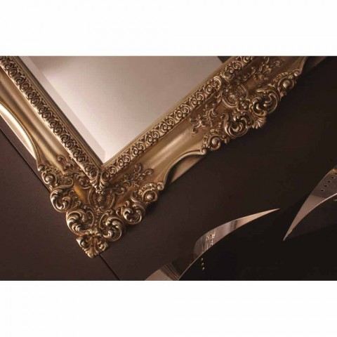 Classic baroque design mirror handmade in Italy Laurie