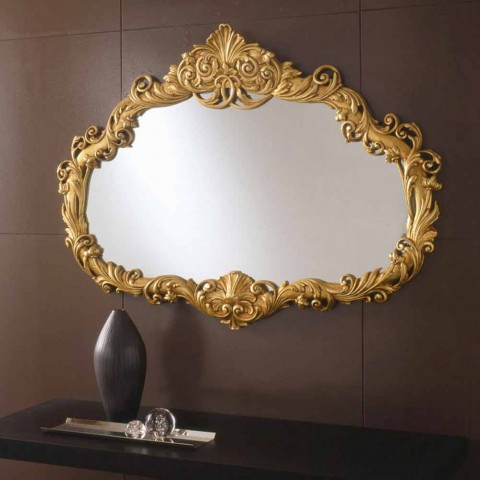 Classic Evelyn handmade baroque design mirror