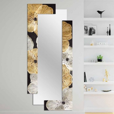 Designer Wall Mirror Daiano by Viadurini Decor, made in Italy