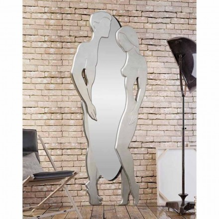 Wall mirror Man&Woman by Viadurini Decor, modern design