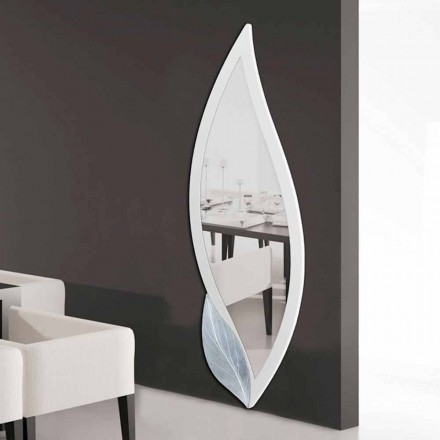 Petal shaped mirror, modern design