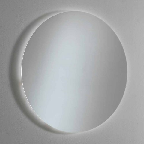 Round Backlit Wall Mirror with LED Made in Italy - Ronda