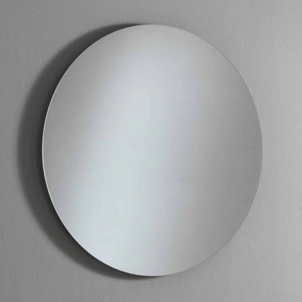 Round Backlighting Wall Mirror with LED Made in Italy - Ronda