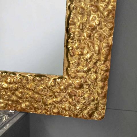Mirror with decorative modern design glass frame, Cecilia