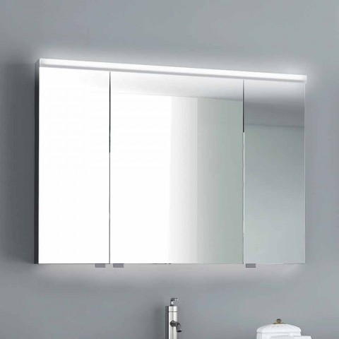 best website efa6d 51317 Carol mirror cabinet with 3 doors and LED lights