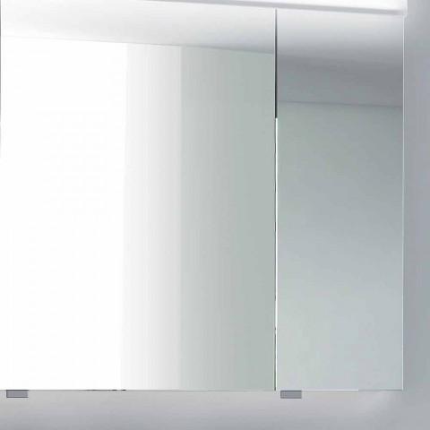 3-Door LED Light Container Mirror, modern design, Carol