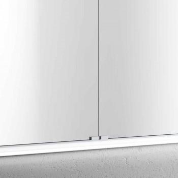 2-Door Contemporary Recessed Contemporary Design LED Door Mirror, Adele