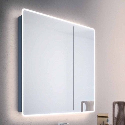 Valter mirror cabinet with 2 doors and LED lights
