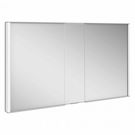 Luxury Recessed Cabinet Mirror, LED Light and Touch Keypad - Demon