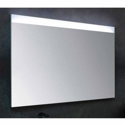 Yvone bathroom mirror with LED light, modern design