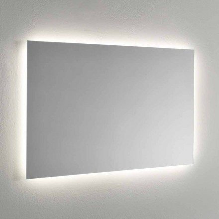 4 Sides LED Backlight Wall Mirror Made in Italy - Romio