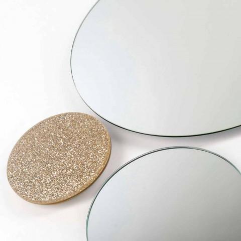 Modeno round wall mirror made in Italy ADDO