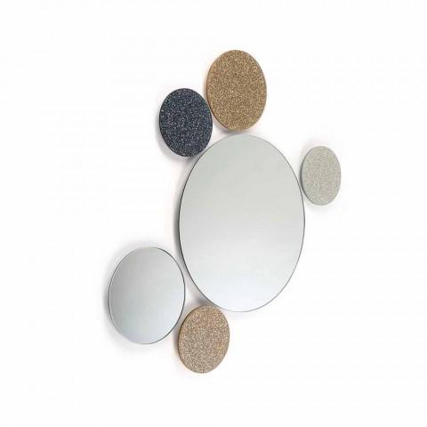 Modeno round wall mirror made in Italy ADDO