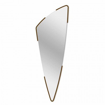 Decorative Wall Mirror Modern Design in 4 Colors Made in Italy - Spino