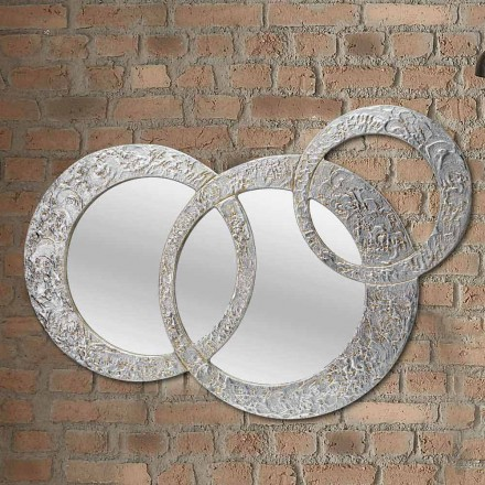 Small Wall Mirror Cortina by Viadurini Decor, made in Italy