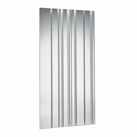 Modern Design Rectangular Wall Mirror Made in Italy - Coriandolo