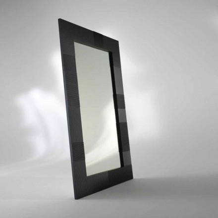 Rectangular free standing mirror Thalia, modern design