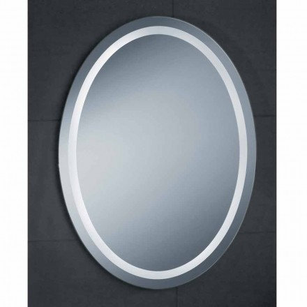 Pura LED bathroom mirror, modern design