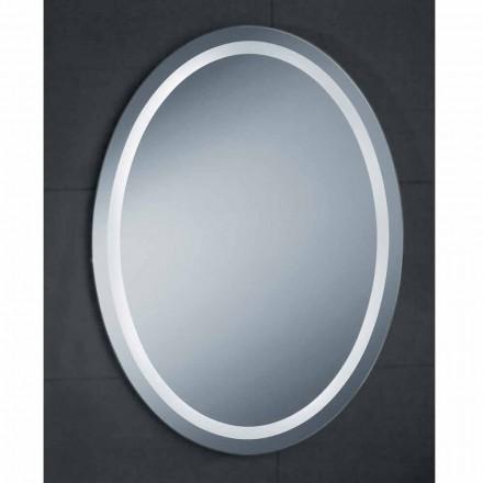 Pura LED bathroom mirror, modern design