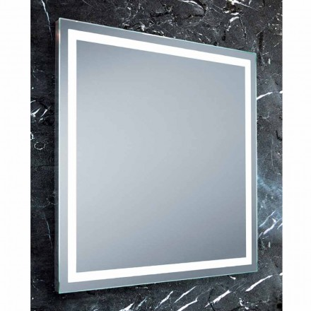 Paco LED bathroom mirror, modern design