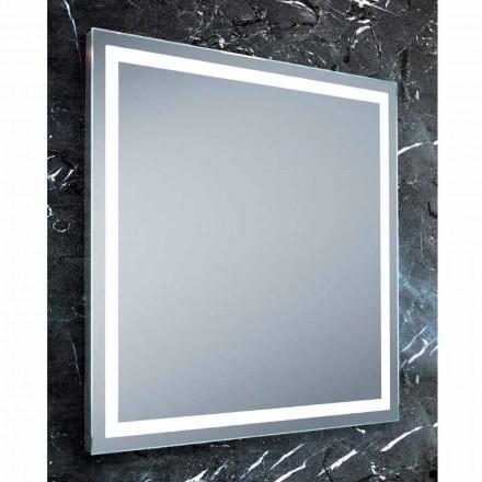 Paco LED bathroom mirror, modern design