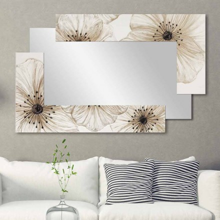 Designer Wall Mirror Sabbiate by Viadurini Decor